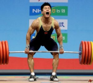 High Level Olympic lifters are extremely impressive athletes