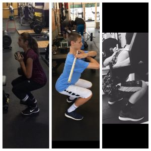 Progression is huge in squatting well