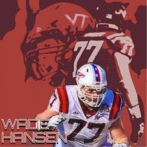 Sitting at 310 and starting for the Virginia Tech Hokies